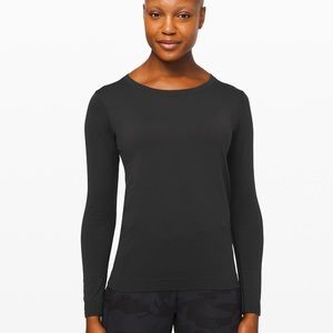 Lululemon Swiftly Relaxed Fit Long Sleeve Black